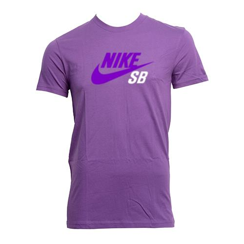 Nike SB shirt in purple