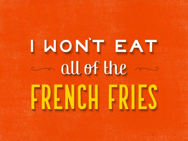 daily dishonesty, french fries